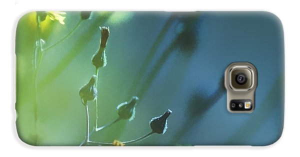 Galaxy S6 Case featuring the photograph Spring Grass by Yulia Kazansky