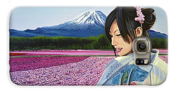 Mount Rushmore Galaxy S6 Case - Spring In Japan by Paul Meijering