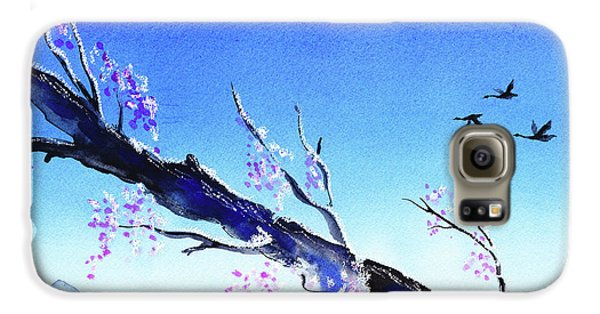 Spring In The Mountains Galaxy S6 Case by Irina Sztukowski