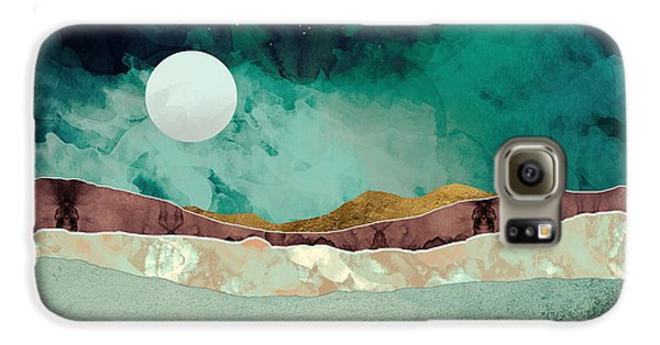Landscapes Galaxy S6 Case - Spring Night by Katherine Smit