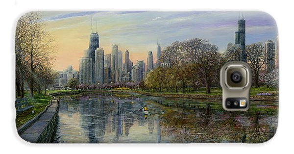 Pigeon Galaxy S6 Case - Spring Serenity  by Doug Kreuger