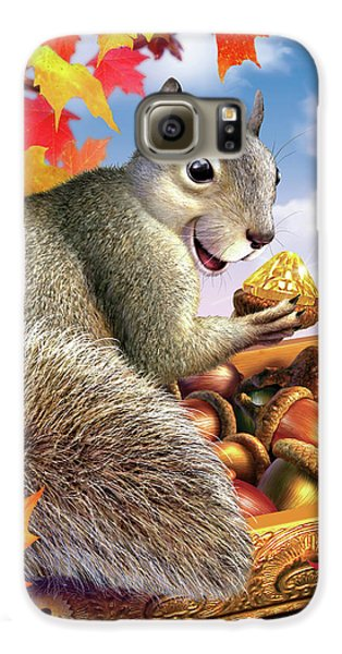 Squirrel Treasure Galaxy S6 Case