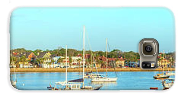 Galaxy S6 Case featuring the photograph St Augustine Panorama by Sebastian Musial