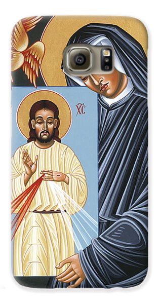 St Faustina Kowalska Apostle Of Divine Mercy 094 Galaxy S6 Case