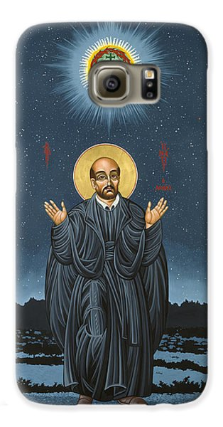 St. Ignatius In Prayer Beneath The Stars 137 Galaxy S6 Case