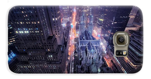 Design Galaxy S6 Case - St. Patrick's Cathedral by Mariel Mcmeeking