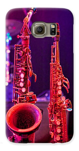 Stage Sax Galaxy S6 Case by Kim Wilson