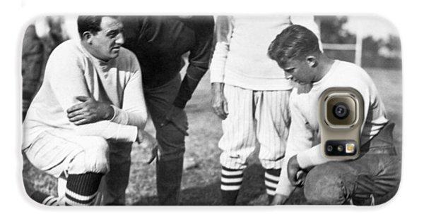 Stanford Coach Pop Warner Galaxy S6 Case by Underwood Archives