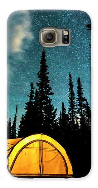 Galaxy S6 Case featuring the photograph Star Camping by James BO Insogna