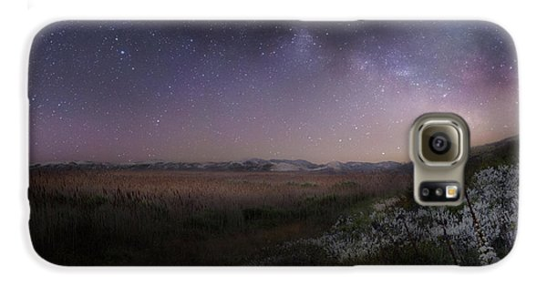 Galaxy S6 Case featuring the photograph Star Flowers Square by Bill Wakeley