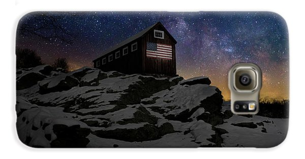 Galaxy S6 Case featuring the photograph Star Spangled Banner by Bill Wakeley