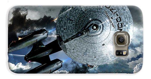 Star Trek Into Darkness, Original Mixed Media Galaxy S6 Case by Thomas Pollart
