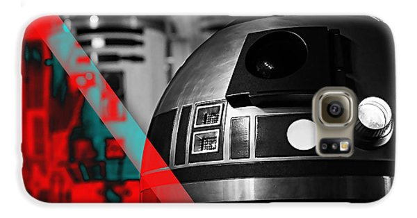 Star Wars R2-d2 Collection Galaxy S6 Case by Marvin Blaine