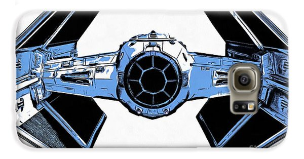 Star Wars Tie Fighter Advanced X1 Galaxy S6 Case by Edward Fielding