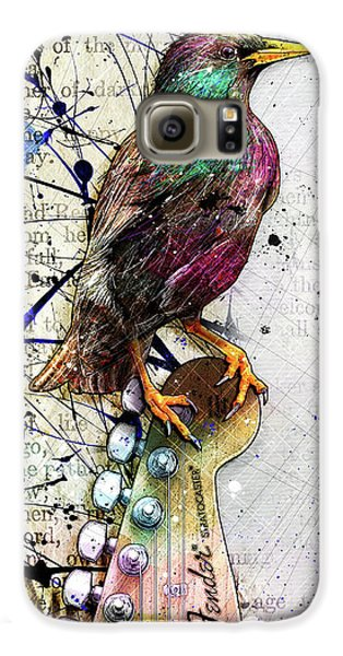 Starling On A Strat Galaxy S6 Case