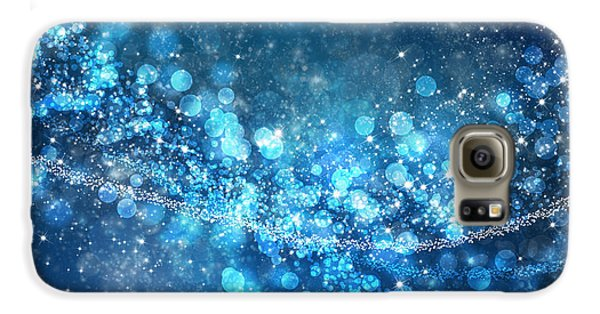 Space Galaxy S6 Case - Stars And Bokeh by Setsiri Silapasuwanchai