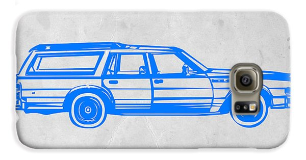 Beetle Galaxy S6 Case - Station Wagon by Naxart Studio