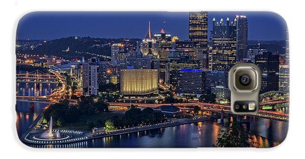 Steel City Glow Galaxy S6 Case