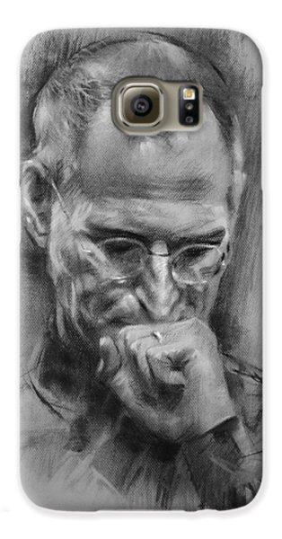 Apple Galaxy S6 Case - Steve Jobs by Ylli Haruni