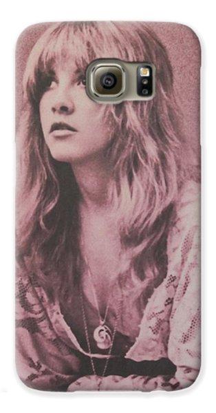 Music Galaxy S6 Case - Stevie Nicks  by Donna Wilson