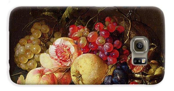 Still Life Galaxy S6 Case by Cornelis de Heem