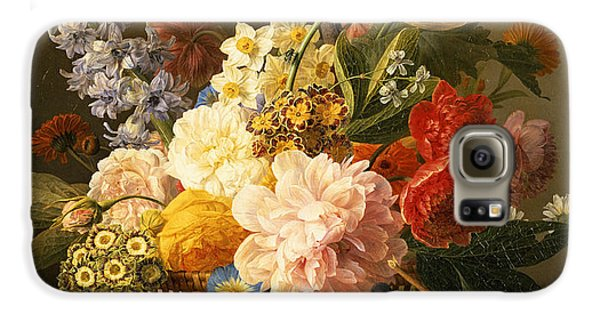 Still Life With Flowers And Fruit Galaxy S6 Case