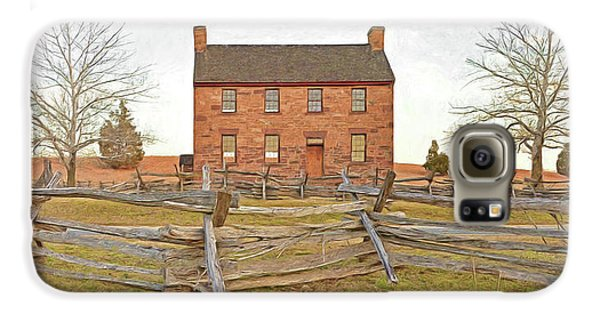 Stone House / Manassas National Battlefield / Winter Morning Galaxy S6 Case