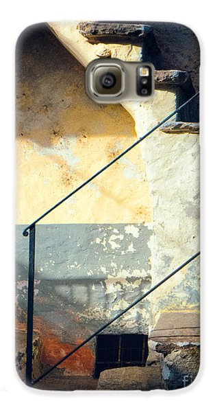 Galaxy S6 Case featuring the photograph Stone Steps Outside An Old House by Silvia Ganora