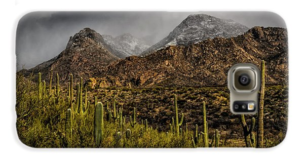 Storm Over Catalinas 15 Galaxy S6 Case by Mark Myhaver