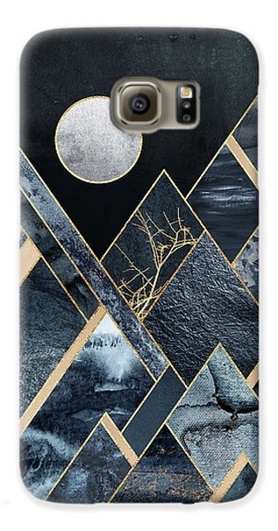 Mountain Galaxy S6 Case - Stormy Mountains by Elisabeth Fredriksson
