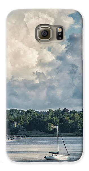 Stormy Sunday Morning On The Navesink River Galaxy S6 Case