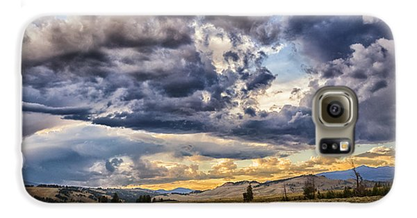Stormy Sunset At Blacktail Plateau Galaxy S6 Case