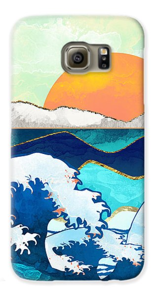 Landscapes Galaxy S6 Case - Stormy Waters by Spacefrog Designs