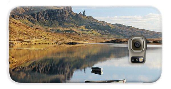 Storr Reflection Galaxy S6 Case by Grant Glendinning