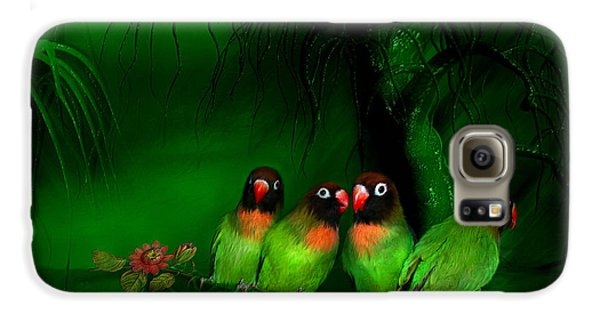 Strange Love Galaxy S6 Case by Carol Cavalaris