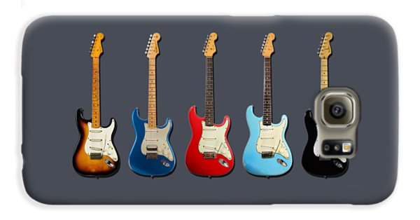 Guitar Galaxy S6 Case - Stratocaster by Mark Rogan