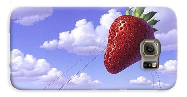 Strawberry Field Galaxy S6 Case by Jerry LoFaro