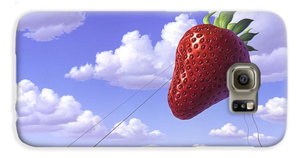 Strawberry Field Galaxy S6 Case