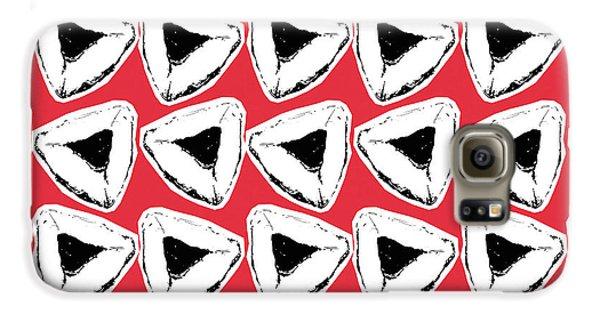 Strawberry Galaxy S6 Case - Strawberry Hamentashen- Art By Linda Woods by Linda Woods