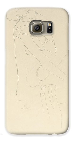 Study For Adele Bloch Bauer II Galaxy S6 Case by Gustav Klimt