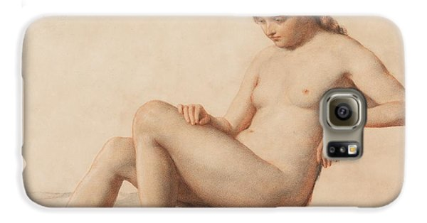 Study Of A Nude Galaxy S6 Case by William Mulready