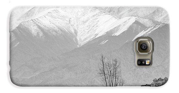 Stupa And Trees Galaxy S6 Case