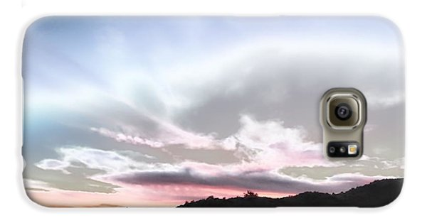 Submarine In The Sky Galaxy S6 Case