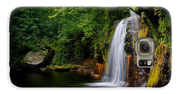 Galaxy S6 Case featuring the photograph Summer At Wolf Creek Falls by Rikk Flohr