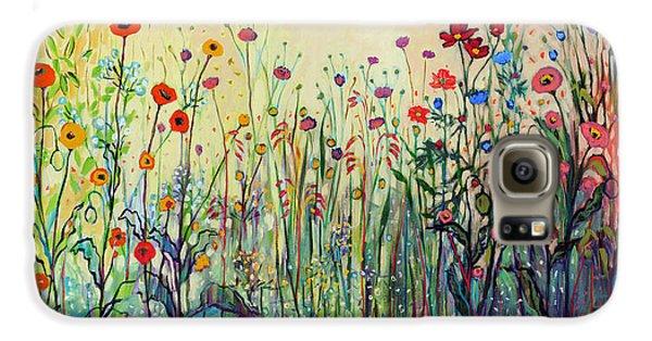 Floral Galaxy S6 Case - Summer Joy by Jennifer Lommers
