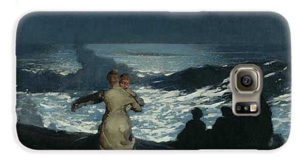 Summer Night Galaxy S6 Case by Winslow Homer