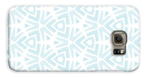 Beach Galaxy S6 Case - Summer Splash- Pattern Art By Linda Woods by Linda Woods