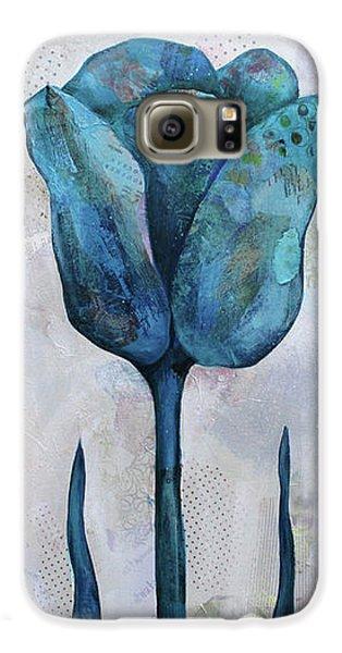Tulip Galaxy S6 Case - Summer Tulip II by Shadia Derbyshire