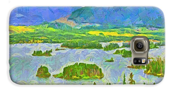 Summer View Of Lake Dillon In The Colorado Rocky Mountains Galaxy S6 Case