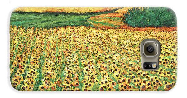 Sunflower Galaxy S6 Case - Sunburst by Johnathan Harris